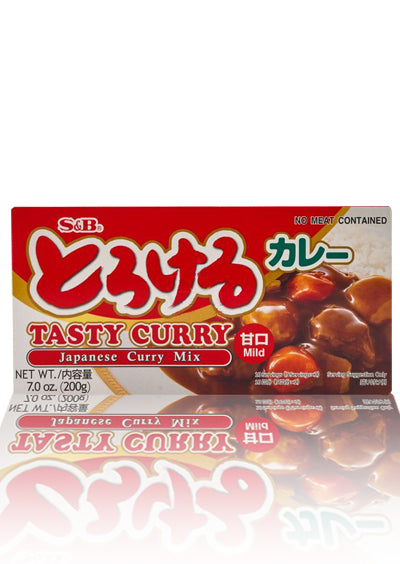 S&B Tasty Curry Mild 200g