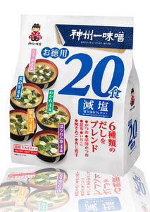 Shinsyuichi Less Sodium Miso Soup 20p