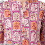 Women's Straight Printed Cotton Kurta Set