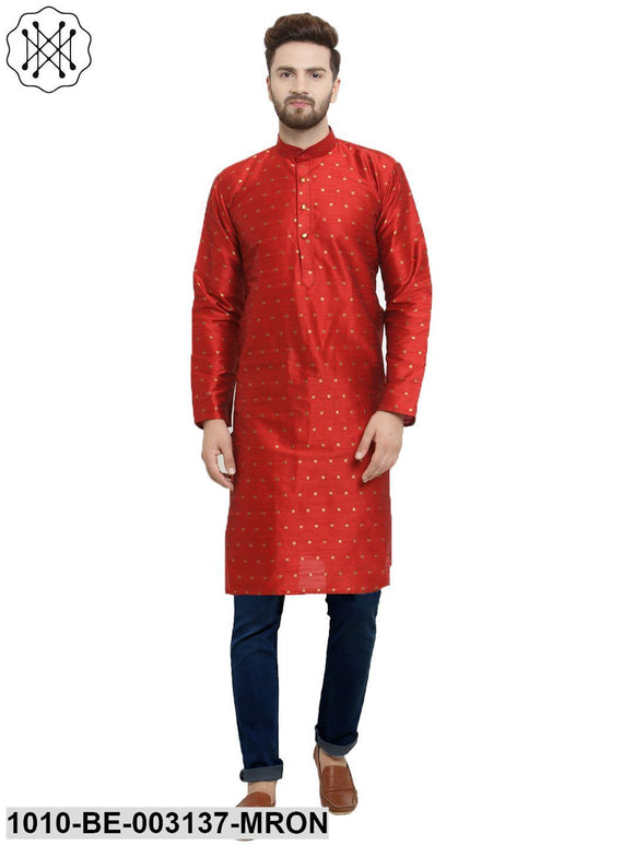 Men's Silk Kurta