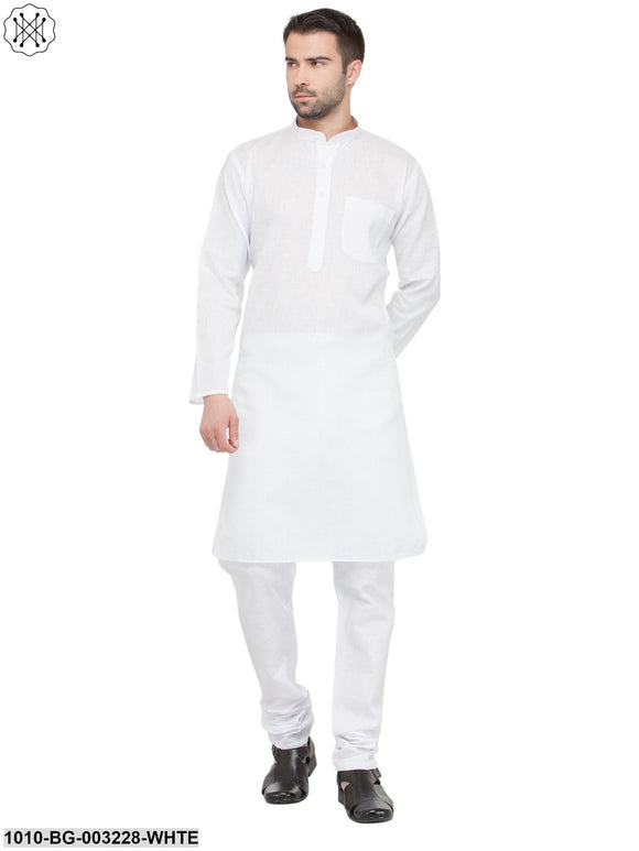 Men's Solid Kurta Pyjama Set