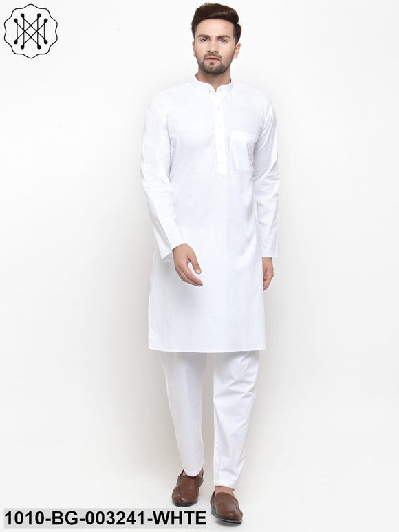 Men's Cotton Kurta Pyjama Set