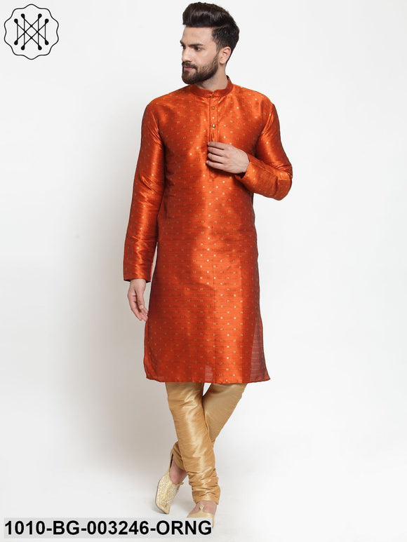 Men's Silk Kurta Pyjama Set