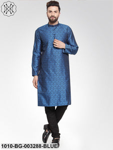 Men's Jacquard Kurta Pyjama Set