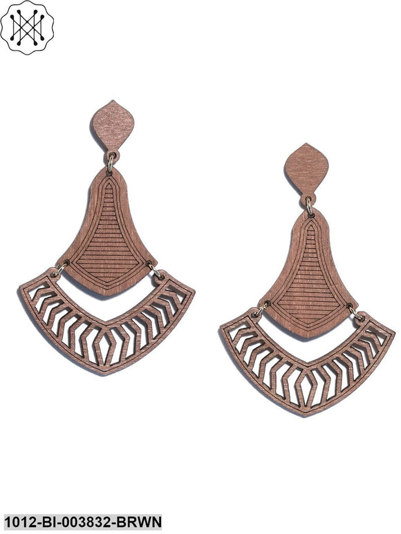 Prita Wooden Earring For Girls/Women