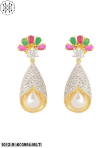 Prita Alloy Drop Earrings