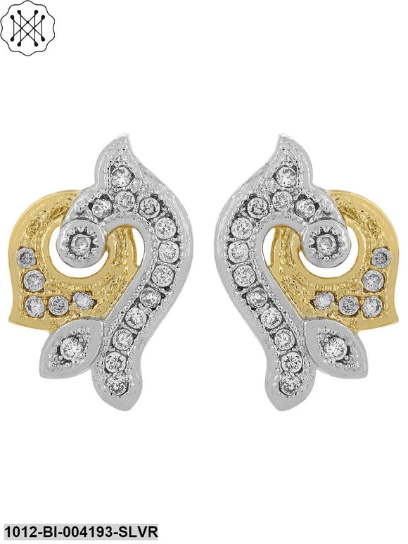 Prita Designer American Diamond Elegant Stud Earrings