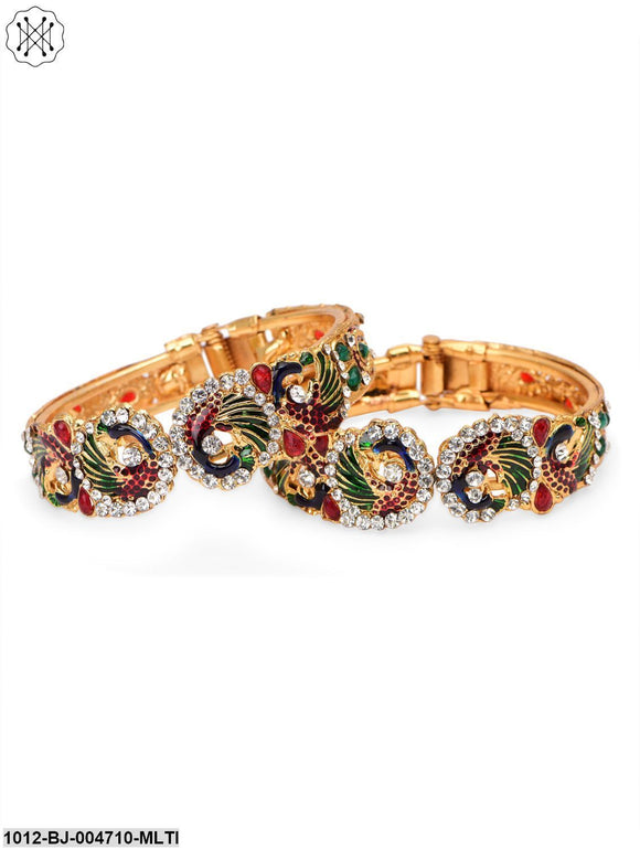 PRITA Mayur Inspired Traditional Party Wear Bracelet