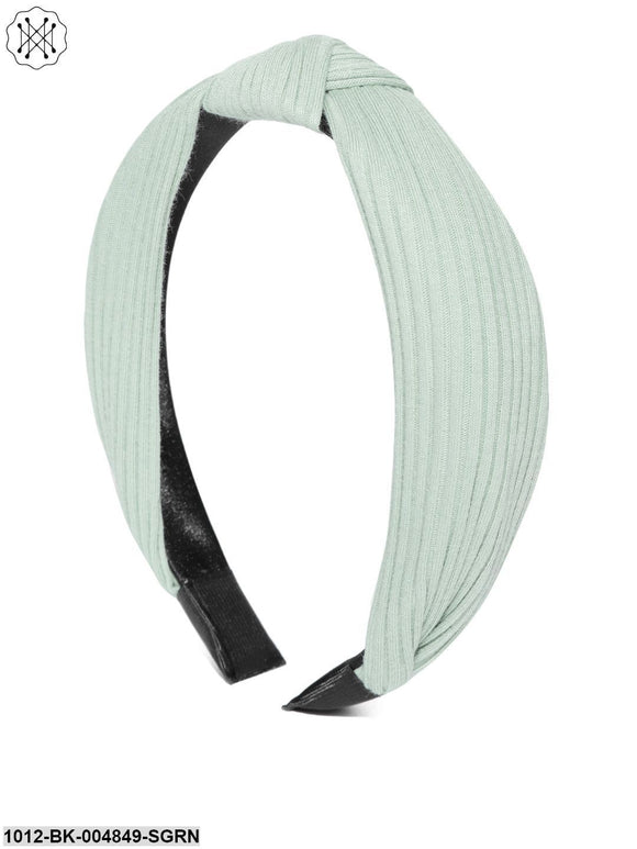 Prita Green Solid Hairband