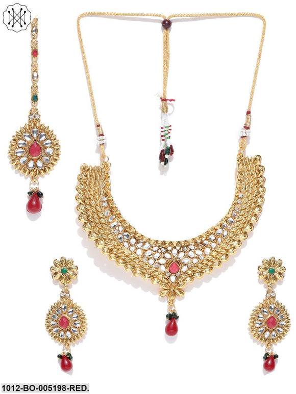 Priyaasi Gold Plated Choker Set