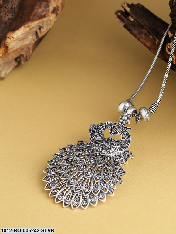 Priyaasi Oxidised German Silver-Plated Necklace