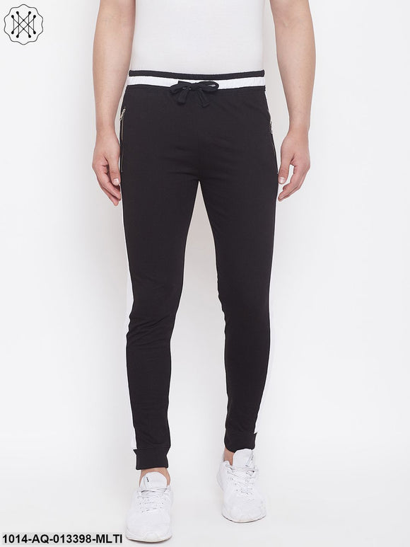 Rise Joggers With Zipped Pocket'S