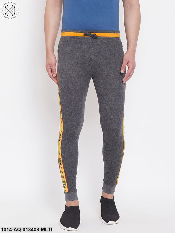 Men'S Slim Fit Jogger'S With Zipped Pocket'S