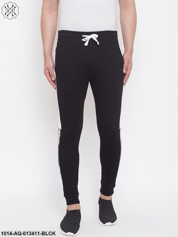 Rise Joggers With Contrast Taping