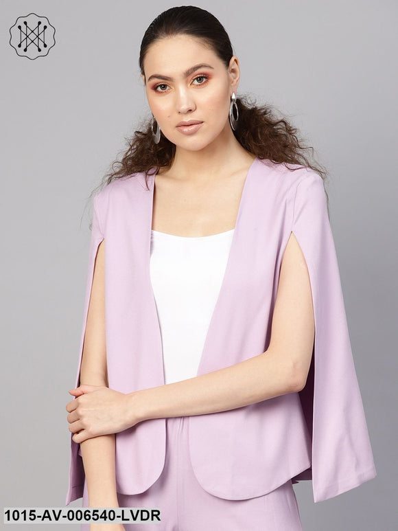 Lavender Cape Jacket