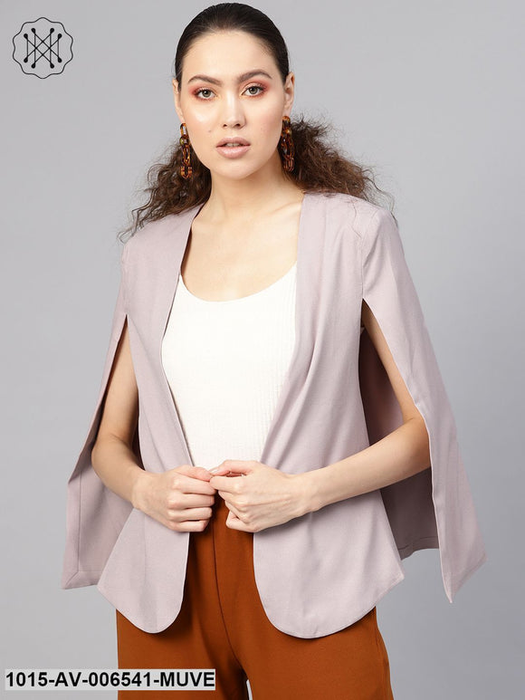 Mauve Cape Jacket