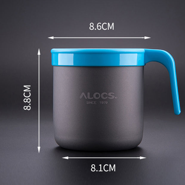 0.4 Litre Aluminum Outdoor Sports Coffee Cup 75g Portable Cup