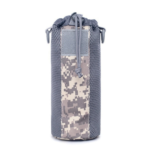 0.5L 1050D Nylon Outdoor Trave Tactical Molle Water Bottle Pouch Bag Military Canteen Cover Holsterl Kettle Bag
