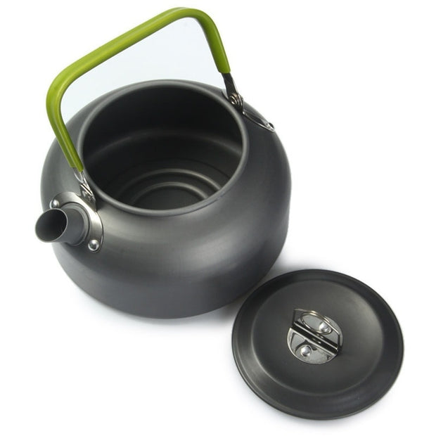 0.8L Portable Outdoor Hiking Camping Picnic Aluminium Alloy Water Kettle Teapot Coffee Water Pot Outdoor Appliances