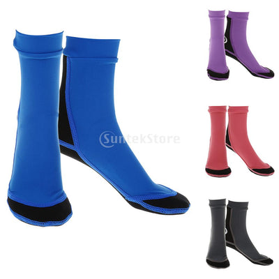 1.5mm Diving Swimming Snorkeling Neoprene Water Sports Scuba Socks