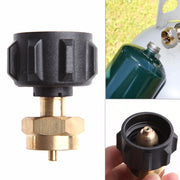 1 LB Gas Propane QCC1 Regulator Valve Propane Refill Adapter Outdoor BBQ High Quality