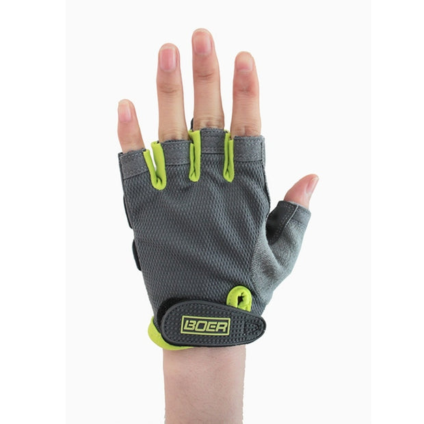 1 Pair Outdoor Sport Gloves Summer Cycling Bike Bicycle Riding Gym Fitness Half Finger Gloves For Women Men