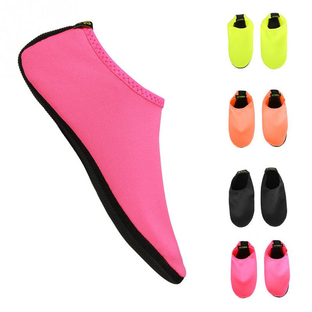 1 Pair Summer Outdoor Swimming Water Shoes Women Men Beach Skin Shoes Swim Sport Summer Breathable Socks Beach Aqua Shoes