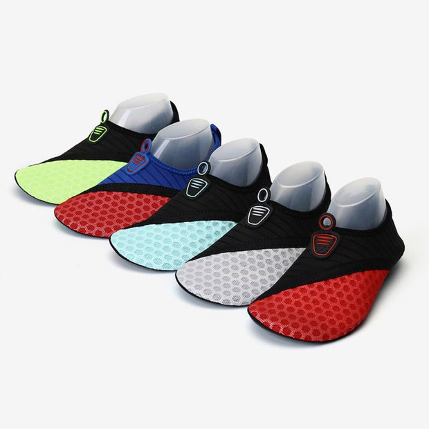 1 Pair Unisex Swim Shoes Breathable Anti Slip Socks Beach Pool Surfing Yoga Not Absorbing Water Lightweight Swimming Accessor