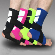 1 Pc Unisex Pro Elastic Anti-Slip Sports Ankle Guard Protector Cuff Foot Bracer