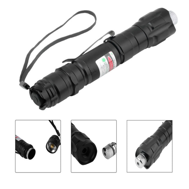 1 Pcs Hot High Power Green Laser Sight 303 Pointer 8000m 5mW Long Distance Starry Head Burning Match Lazer Pointer Strong Pen