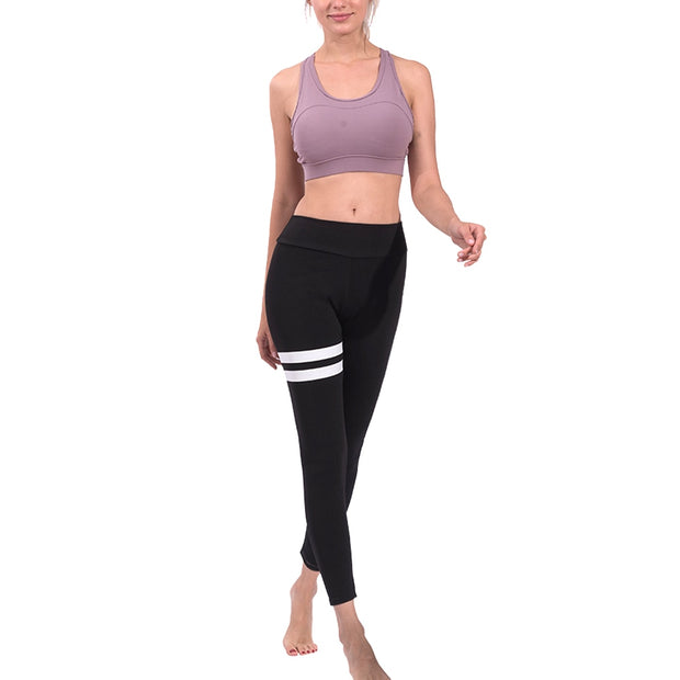 1 Pcs Leggings Pants Trousers Quick Drying Elasticity For Women Lady Gym Yoga ALS88
