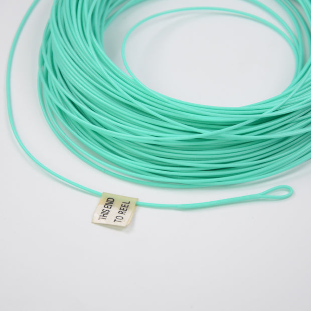 100FT Fly Line WF 6F Weight Forward Floating Fly Fishing Line With Double Welded Loops