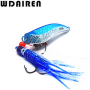 100g WDAIREN Lead Metal Sinker Jigging Lure Slow Pitch Sinking Jig Deep Sea Artificial Fishing Bait For Saltwater Ocean WD-174