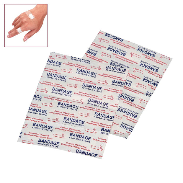 100pcs PE High Elastic Transparent Waterproof Breathable Medical Disposable Band-aid