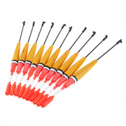10pcs/lot Balsa Wood Fishing Float 15.9cm 2g Bright Color Balsa Bobber With High Sensitivity