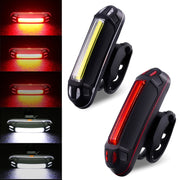 110Lumens USB Rechargeable Bicycle Rear Light Cycling LED Taillight Waterproof MTB Road Bike Tail Light Back Lamp #281102