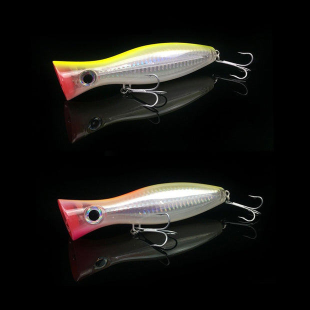 12cm Popper Lure Hard Fishing Lure Baits Saltwater Big Game Trolling Top Water 1pc