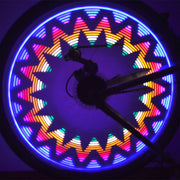 16 Colorful LED Lights 42 Patterns Water Resistant Bicycle Bike Cycling Wheel Spoke Light Lamp