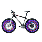 16 Led 42 Mode Spoke Warn Light Waterproof Bicycle Wheel Tyre Light Signal Lamp Reflective Rim Rainbow Tire Fixed
