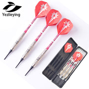 18g Copper Shaft Soft Tip Dart Toys 3 Pieces/set Electronic Soft Darts High Quality
