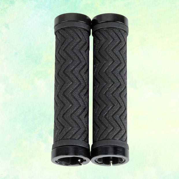 1PC Plastic Bicycle Handlebar Grips Durable Nontoxic Pratical Anti-Slip Grips Handle Bar Bicycle Handle Grips Supplies