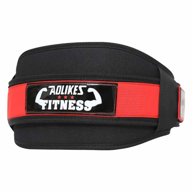 1PCS Men Waist Support Belt Sport Pressurized Weightlifting Bodybuilding Fitness Squatting Training Lumbar Back Supporting