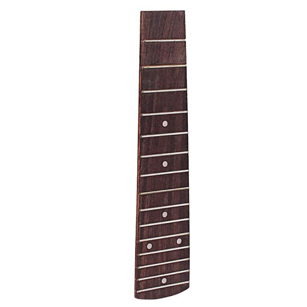 1Pc 21 Inch Ukulele Neck Durable Premium Fretboard Rosewood Replacement Ukulele Fretboard With Neck Ukulele Fingerboard Ukulele
