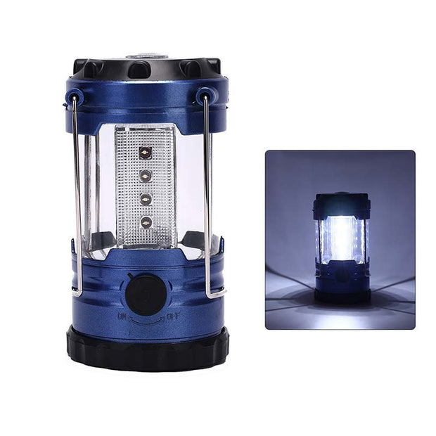1pc Outdoor Camping Lantern Flashlights Lamp Portable Tent Lanterns Adjustable LED Hiking Bivouac Camping Tents Light