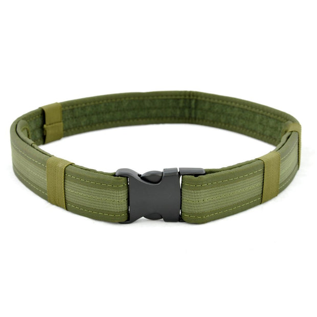 2 Inch Multifunctional Heavy Duty Lightweight Quick Release Buckle Nylon Wearproof Outdoor Belt