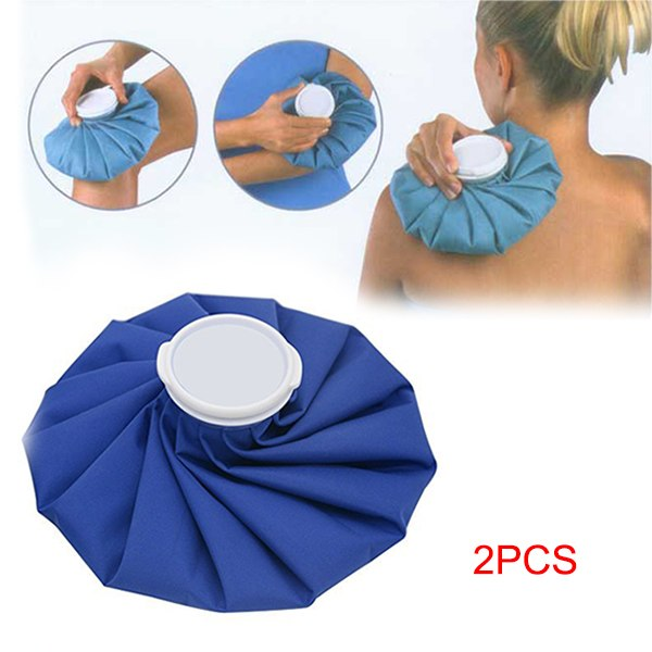 2 Pcs Portable Injury Ice Bag Cap Muscle Relief Pain Cold Therapy Pack Outdoor Sports Camping Hiking Climbing Health Care Tools