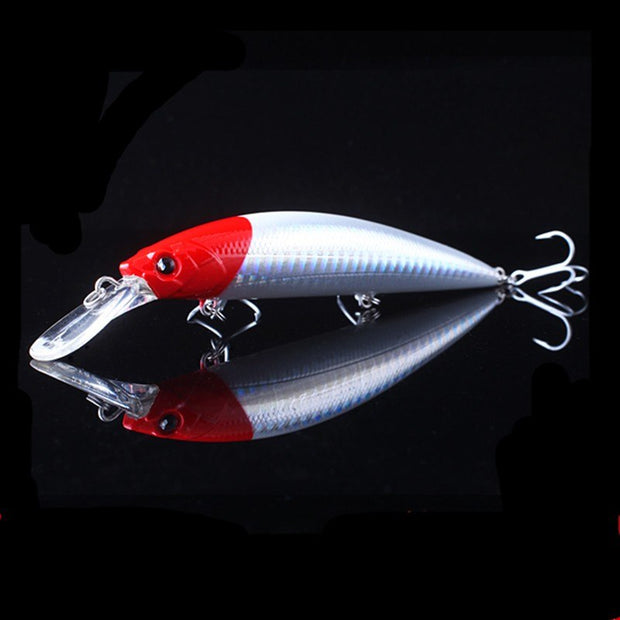 2017 NOEBY Minnow Bait 110mm/40g Sinking 0.2-2.5m Fishing Lure VMC Hooks Isca Artificial Para Pesca Leurre Souple Swimbait Peche