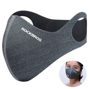2017 New Arrival Winter Face Mask PM2.5 Anti Smog Masks Bike Anti Fog Pollution Carbon Filter Running Skiing Cycling Face Mask