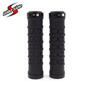 2018 1Pair MTB Bicycle Grips Rubber Non-Slip Lock Handlebar Grips 13*2.2cm Ergonomic Mountain Cycling Racing Handlebar Grip