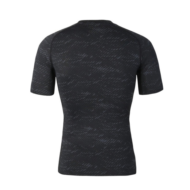 2018 New Fitness Compression Shirt Men Bodybuilding Short Sleeve T Shirt Men Sport Running Crossfit Tops Shirts